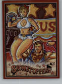 2019 Cryptozoic DC Bombshells Series 3 Showstoppers Rainbow NonSport #SH8 Superman and Power Girl TRADING CARD
