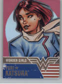 2019 Cryptozoic DC Bombshells Series 3 Wonder Girls Deca Rainbow NonSport #WG5 Yuri Katsura TRADING CARD