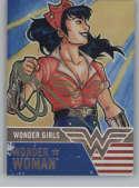2019 Cryptozoic DC Bombshells Series 3 Wonder Girls Deca Rainbow NonSport #WG6 Wonder Woman TRADING CARD