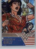 2019 Cryptozoic DC Bombshells Series 3 Wonder Girls Deca Rainbow NonSport #WG8 Wonder Girls TRADING CARD