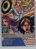2019 Cryptozoic DC Bombshells Series 3 Wonder Girls Deca Rainbow NonSport #WG9 Wonder Girls TRADING CARD
