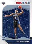 2019-20 Panini Hoops Winter Basketball #258 Zion Williamson New Orleans Pelicans RC Rookie Card Official Christmas/Holid