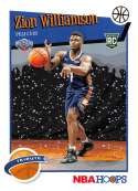 2019-20 Panini Hoops Winter Basketball #296 Zion Williamson New Orleans Pelicans Official Christmas/Holiday Parallel Tra