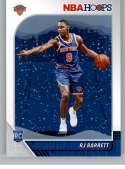 2019-20 Panini Hoops Winter Purple Basketball #201 RJ Barrett New York Knicks Official Winter/Christmas/Holiday NBA Trad
