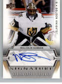 2019-20 Upper Deck Series One Signature Sensations Hockey #SS-MS Malcolm Subban Auto Autograph Vegas Golden Knights Offi