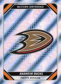 2019-20 Topps Album NHL Stickers Hockey #1 Anaheim Ducks Anaheim Ducks Foil