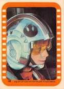 1977 Topps Star Wars Stickers Set Break #1 Non Sport #45 A critical moment for Luke Skywalker Series Five