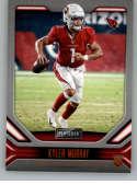 2019 Playbook Orange Football #102 Kyler Murray Arizona Cardinals Official NFL Trading Card From Panini America