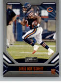 2019 Playbook Orange Football #111 David Montgomery Chicago Bears Official NFL Trading Card From Panini America