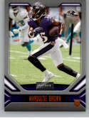 2019 Playbook Orange Football #112 Marquise Brown Baltimore Ravens Official NFL Trading Card From Panini America