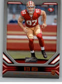 2019 Playbook Orange Football #118 Nick Bosa San Francisco 49ers Official NFL Trading Card From Panini America