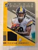 2019 Donruss Rookie Phenom Jerseys Football #27 Diontae Johnson Jersey/Relic Pittsburgh Steelers Official NFL Memorabili