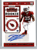 2019 Panini Contenders NFL Rookie Ticket Football #281 Deionte Thompson Arizona Cardinals Rookie Card RC Official NFL Tr