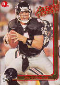 1991 Action Packed Rookie Update Football #21 Brett Favre RC Rookie Card Atlanta Falcons Official Embossed