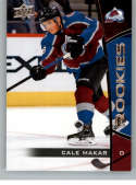 2019-20 Upper Deck NHL Rookie Box Set Hockey #25 Cale Makar Colorado Avalanche Official NHL Rookie Card From Upper Deck