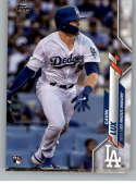 2020 Topps Baseball #292 Gavin Lux RC Rookie Card Los Angeles Dodgers Official MLB Baseball Trading Card