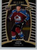 2019-20 Upper Deck Allure Hockey #80 Cale Makar RC Rookie Card Colorado Avalanche Official Chromium NHL Trading Card Fro