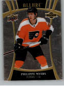 2019-20 Upper Deck Allure Hockey #118 Philippe Myers RC Rookie Card SP Short Print Philadelphia Flyers Official Chromium