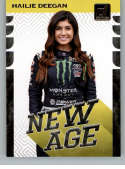 2020 Donruss New Age Racing #9 Hailie Deegan NAPA Official NASCAR Trading Card From Panini America