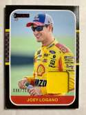 2020 Donruss Retro 1987 Relics Red Racing #19 Joey Logano Relic SER/250 Shell-Pennzoil/Team Penske/Ford Official Trading