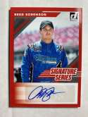 2020 Donruss Signature Series Racing #15 Reed Sorenson Auto Autograph Xchange America/Premium Motorsports/Chevrolet Offi