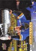 2019-20 Upper Deck UD Canvas Hockey #C176 Alex Pietrangelo St. Louis Blues Official Series Two Trading Card From UD