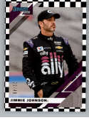 2020 Donruss Black Numbers Racing #38 Jimmie Johnson SER/48 Ally Financial/Hendrick Motorsports/Chevrolet Official Tradi