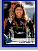 2020 Donruss Blue Racing #16 Hailie Deegan SER/199 NAPA Official Trading Card From Panini America