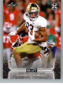 2020 Leaf Draft Football #23 Chase Claypool Pre-Rookie Trading Card Notre Dame Fighting Irish