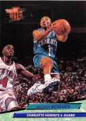 1992-93 Ultra Basketball #17 Muggsy Bogues Charlotte Hornets Charlotte Hornets Official NBA Trading Card From The Fleer