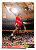 1992-93 Upper Deck Basketball #23 Michael Jordan Chicago Bulls Official NBA Trading Card From The UD Company