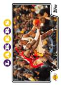 2008-09 Topps Basketball #24 LeBron James/Kobe Bryant Los Angeles Lakers Official NBA Trading Card From The Topps Compan