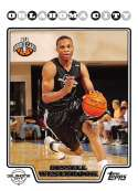 2008-09 Topps Basketball #199 Russell Westbrook RC Rookie Card Official NBA Trading Card From The Topps Company