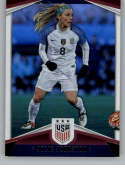 2016 Panini USA Soccer Holo Soccer #10 Julie Johnston Official Team USA Trading Card