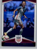 2016 Panini USA Soccer Holo Soccer #15 Christen Press Official Team USA Trading Card