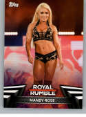 2019 Topps Women's Division WWE Royal Rumble Wrestling #RR-3 Mandy Rose Official WWE World Wrestling Entertainment Tradi