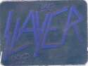 1991 Brockum Rock Cards Logo 1.5 Inch Wide by 1 Inch Tall Sticker Holograms NonSport #NNO Slayer