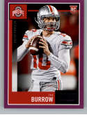 2020 Score Purple Football #438 Joe Burrow RC Rookie Card Ohio State Buckeyes