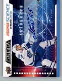 2019-20 Upper Deck Credentials Rookie Science Autographs Hockey #RS-14 Ilya Mikheyev Auto Autograph Maple Leafs