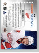 2019-20 Upper Deck Credentials Rookie Science Autographs Hockey #RS-31 Ryan Kuffner Auto Autograph Red Wings