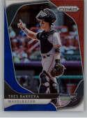 2020 Prizm Red White and Blue Prizm Baseball #206 Tres Barrera Washington Nationals