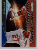 2020 Prizm Instant Impact Red White and Blue Prizm Baseball #4 Mike Trout Los Angeles Angels