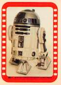 1977 Topps Star Wars Stickers Set Break Five #38 R2-D2 Kenny Baker Official Vintage Trading Card From The Movie A New Ho