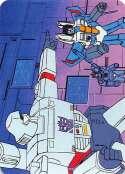 1985 Hasbro Transformers NonSport #150 The Decepticon Strategy