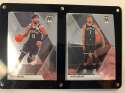 2019-20 Panini Prizm Mosaic Two Card Six Screw Plaque Featuring Kyrie Irving and Kevin Durant of the Brooklyn Nets