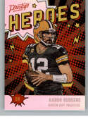 2020 Panini Prestige Heroes Football #9 Aaron Rodgers Green Bay Packers