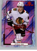 2020-21 Upper Deck MVP Colors and Contours Purple Hockey #96 Patrick Kane SER/3 Chicago Blackhawks