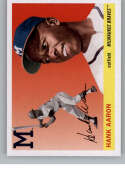2020 Topps Archives Variations Baseball #100 Hank Aaron Milwaukee Braves