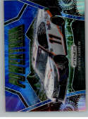 2020 Panini Prizm Blue and Carolina Blue Hyper Prizm Racing #87 Denny Hamlin FedEx Express