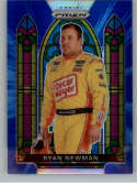 2020 Panini Prizm Blue and Carolina Blue Hyper Prizm Racing #62 Ryan Newman Oscar Mayer